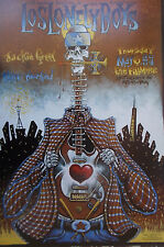 Los Lonely Boys Fillmore Poster Jackie Greene Original Marc Brussard F617