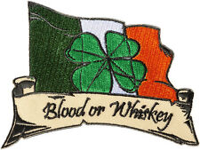 Blood or Whiskey PATCH BRODE écusson