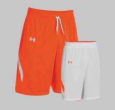 Under Armour Men's Shorts Team Clutch Reversible Basketball Shorts Size L
