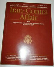 IRAN CONTRA AFFAIR REPORT OF CONGRESSIONAL COMMITTEES LARGE SOFT COVER 1987