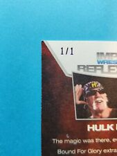True 1/1 Hulk Hogan 2012 Tristar WWE TNA