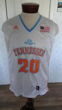 Adidas Tennessee Lady Volunteers Basketball Jersey #20 (L) Officially Licensed