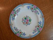 "Wedgwood bone china hand painted floral 8"" salad plate W284"