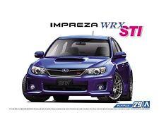 Aoshima 1/24 Subaru Impreza WRX STI SCALE PLASTIC MODEL KIT 5235