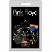 Perri's 6 Pack Pink Floyd  3 Official Licensing Variety Pack Guitar Picks LP-PF3