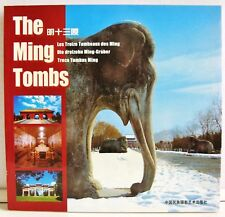 """""""The Ming Tombs"""" Beautiful Illustrated Softcover Book (2002) - EUC"""