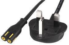 Volex - 152610/3 - Uk Mains To Iec C7 Power Lead, 2m, 2.5a, 250v, 3a Fuse