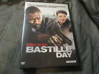 "DVD ""BASTILLE DAY"" Idris ELBA, James WATKINS, Jose GARCIA"