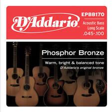 Bronce fosforoso D'Addario EPBB 170, escala larga, 45-100