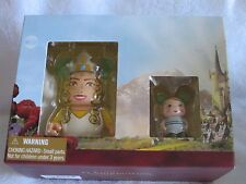 "Disney Vinylmation Oz the Great and Powerful 3"" Glinda and 1.5"" China Doll NIB"