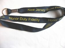 NEW JERSEY STATE POLICE LANYARD