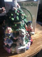 Spode Toys Around The Christmas Tree Cookie Jar Hand Painted New In Box See Desc