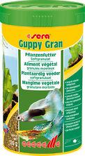 sera Guppy Gran Mikro-Softgranulat Pflanzenfutter 250ml Granulat langsam sinkend