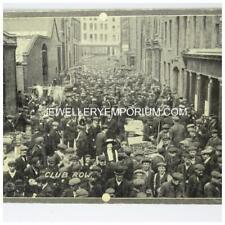 More details for **antique unused postcard club row market brick lane london c1910**