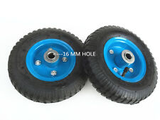 "2 pc x 2.5 "" - 4 "" x (8"")-4PR  PNEUMATIC WHEEL""S Tyre (16 mm center ) -BRAND NEW"