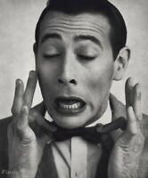 1987 Vintage PEE WEE HERMAN Actor By HERB RITTS Paul Reubens Comedian Photo Art