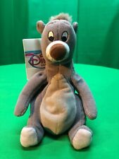 "Baloo Mini Bean Bag Plush 8""Jungle Book Disney Store Exclusive"