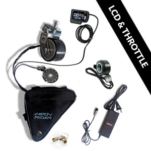 Electric Bike Conversion Kit Any Bike Viarable Power Up To 800W LCD and Throttle
