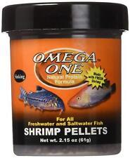 Omega One Shrimp (8mm) Pellets  2.15 ounces