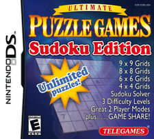 Ultimate Puzzle Games Sudoku Edition NDS New Nintendo DS, Nintendo DS
