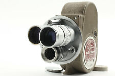 [EXC+++++] Bell & Howell 134 Vintage 8mm Movie Camera w/ 3 Lenses from JAPAN