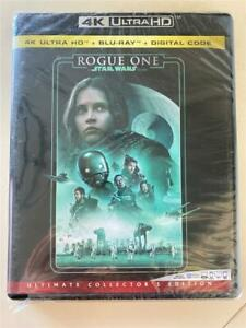 NEW Rogue One A Star Wars Story 4K Ultra HD, Blu-ray & Digital 2016, 3-Disc Set