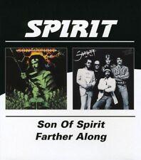 SPIRIT - SON OF SPIRIT/FARTHER ALONG  CD NEU