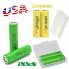 2/4/6PCS LG MJ1 HE4 2500mAh 3500mAh Li-ion 18650 HIGH DRAIN Rechargeable Battery