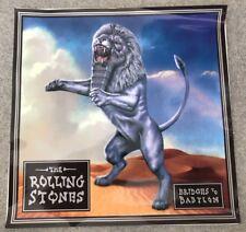 Rolling Stones Bridges To Babylon 1997 Promo Glass Cling On Sticker Mint 8�X8�