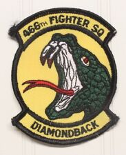 USAF Air Force Patch:  466th Fighter Squadron