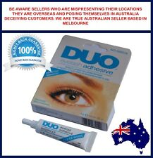 DUO Waterproof Clear White False Eyelashes Makeup Adhesive Eye Lash Glue