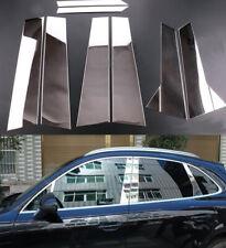 Car Stainless Steel Window Pillar Cover Trim For Porsche Macan 2015-2020