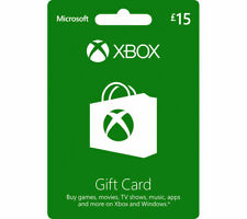MICROSOFT Xbox Live Gift Card - £15 - Currys