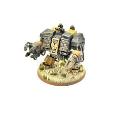 SPACE MARINES ironclad dreadnought #3 PRO PAINTED 40K Red Scorpions army