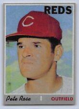 """1970  PETE ROSE - Topps """"REPRINT """" Baseball Card # 580 - CINCINNATI REDS"""