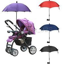 Baby Pram Pushchair Buggy Stroller Umbrella Sunshade Parasol Brolly Sun Canopy