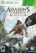 Assassin's Creed IV Black Flag XBOX 360 Game NIB Ubisoft NIP new sealed