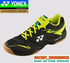 NEW YONEX SHB55EX POWER CUSHION 55 BADMINTON SHOE FOR SQUASH INDOOR BLACK/LIME