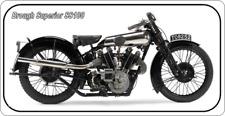 28cm x 14.5cm  BROUGH SUPERIOR SS100 - METAL SIGN - MOTORCYCLE MOTORBIKE BIKE 98
