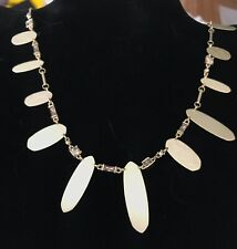 NWT Kendra Scott Airella Necklace In Yellow Gold $110.00