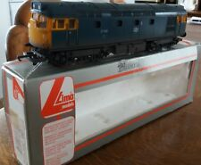 Used boxed lima class 27 102 in professionally heavily weathered BR blue livry