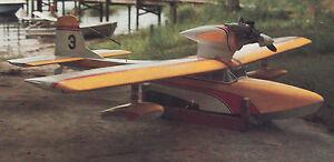 Giant Scale Miss Grandin Seaplane Plans,Templates, Instructions 82ws