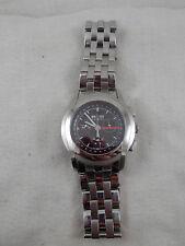 "Gucci 5500 Chrono Stainless Steel watch Swiss 7.5"""