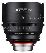 Xeen 24mm T1.5 Profesional Cine Lente Canon Fit