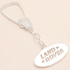 Land Rover Car Logo Key Chain 925 Sterling Silver Unisex Christmas Fine Jewelry