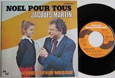 JACQUES MARTIN (SP 45 Tours) NOEL POUR TOUS
