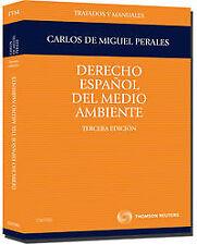 DERECHO ESPAÑOL DEL MEDIO AMBIENTE. 3ªEDICIÓN. ENVÍO URGENTE (ESPAÑA)