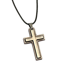 Anime Death Note Letter L Cross Metal Pendant Chain Necklace Jewelry Gift