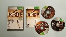 Rage (Microsoft Xbox 360, 2011) Platinum Series