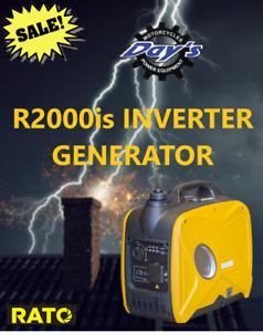 RATO R2000iS INVERTER GENERATOR